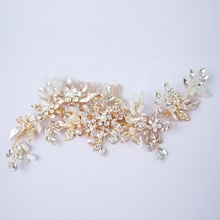 Fashion Bride Hair Accessories Women Jewelry Wedding Rhinestone Crystal Hair Comb