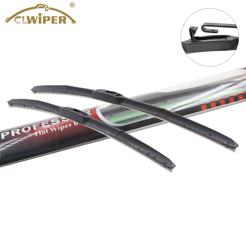 Hybrid Universal Colored Silicone Car Frameless Wiper Blade