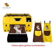 Cheap small textile printer, suitable A3 inject printing machine, digital t-shirt printing machine