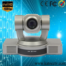 Office security equitment, Full HD PTZ 1080p video conference camera with quick action