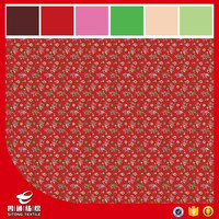 100% polyester microfiber pigment printed mattress fabric for bedding