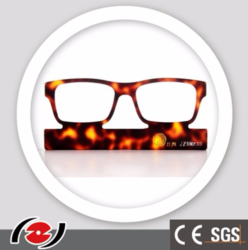 JZ10238 Hot sell cellulose acetate sheet tortoiseshell bright color glasses frames