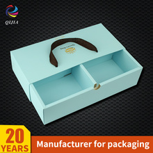 New Product 2017 Chinese Wholesale Favor Christmas Wedding Paper Packaging Fancy Foldable Candy Drawer Gift Box