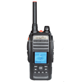 Tesunho TH-388 gsm walkie talkie talk two way radio with sim card