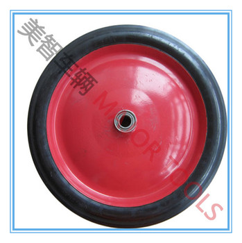 16 inch solid rubber tyre 16x1.75 wagon wheels
