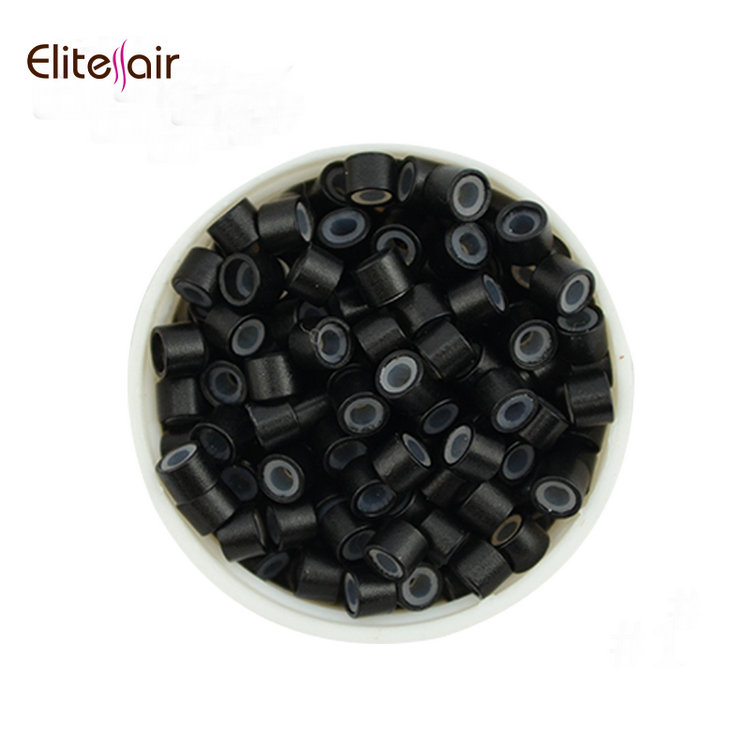 Large stock hair salon equipment hair extension silicone micro ring