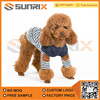 2017 New Arrival Stripped Pet Apparel Puppy Dog T shirt Dress