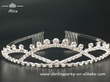 new style party crystal tiaras for wedding party with diamonds