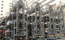 automated garage car stacking Vertical parking Type car stack