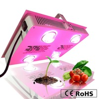 CE ROHS Durable Greenhouse Hydroponics Growing Full Spectrum 600W COB LED Grow Light Shenzhen