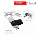 Promotional Leather usb flash drive, Free shiping leather usb flash drives, free logo print leather usb