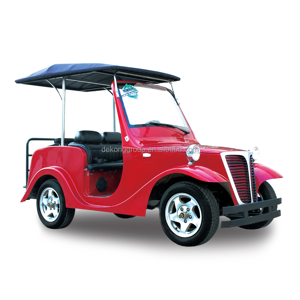 28km/h resort beach 4 seats electric classical car sightseeing car