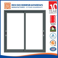 High Efficient Energy Efficient Aluminum Framed Sliding Window