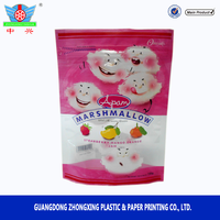 150g Ice-cream Stand Up Marshmallow Candy Packing Bag