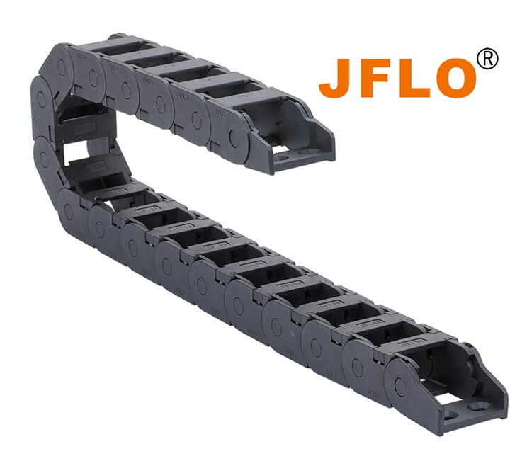 25 series interior opening plastic chain for cable chain tray