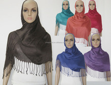 Plain solid pashmina style ligth weight viscose SCARF/SHAWL/WRAP170cm x 60cm-Manufacturer p.healthy