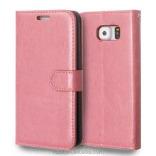 For samsung S6 colorful phone protector Leather phone case