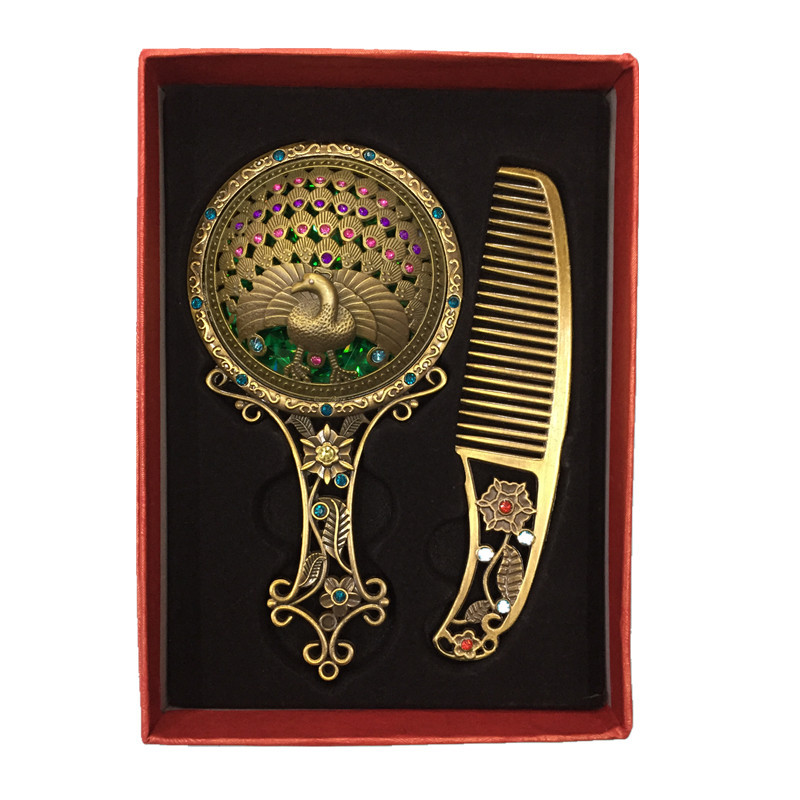 gift antique makeup mirror set.jpg
