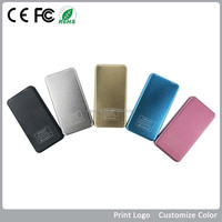Polymer Lithium Battery, Power Bank 4000 mAh, Power Bank External Battery