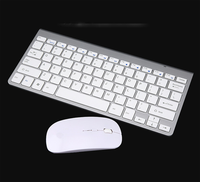 Beautiful Slim 2.4GHz Wireless Mouse Keyboard Combos for Laptop/Mobile