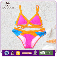 Hot Sale Good Quality Open Sex Young Lady Bandeau Swimwear