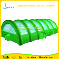 Large Removable Inflatable Tube Structure Tent ,Cube Inflatable Air Structure , Cube Tent