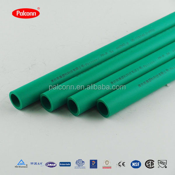 PPR Material water pipe 4 inch plastic