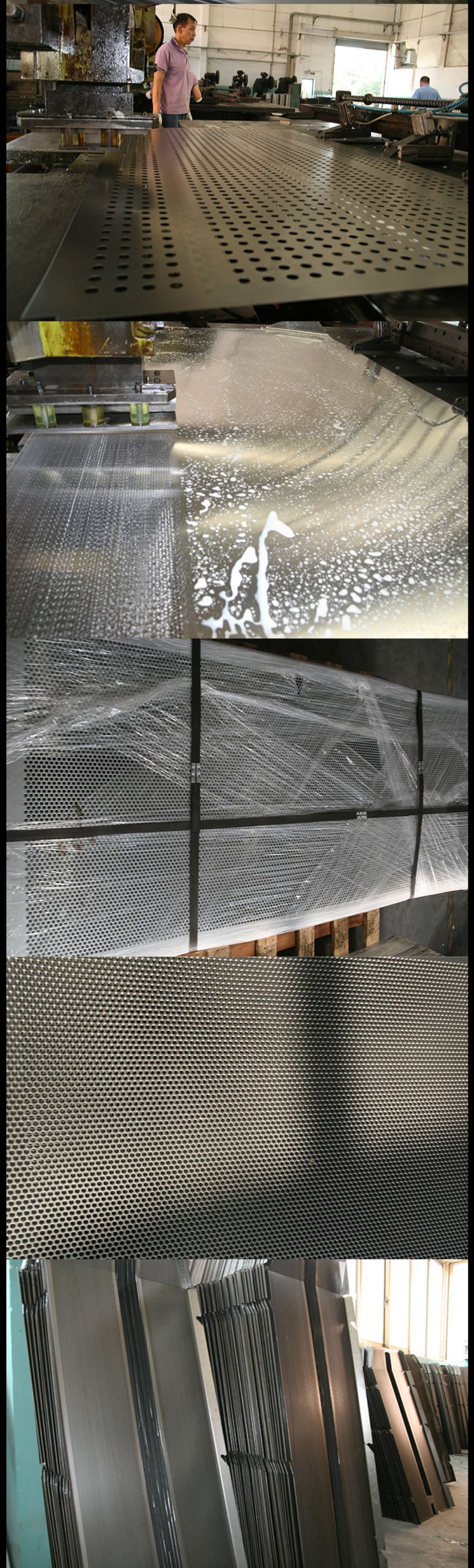 OEM stainless steel stainless Punch Plate 304 Perforated plates