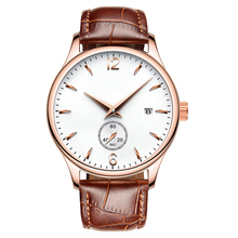 Focus hand japan moonphase watch amber time men luxury brand automatic quartz watches for men