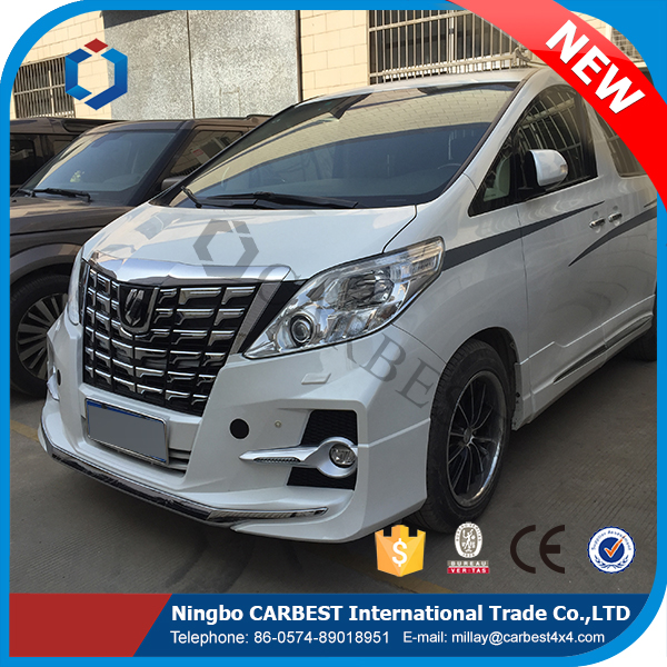 High Quality New 2016 Alphard Body Kit for Toyota Alphard Accessories Parts 2012-2013