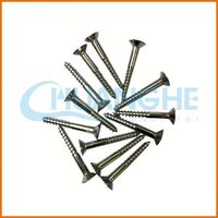 China screw manufacturer hex washer flange type wood screws roofing