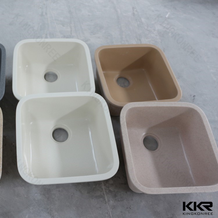 repairable modified acrylic solid surface kitchen sink