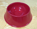 Pet Usage Customization Red Ceramic Dog Bowl
