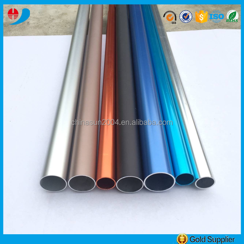 Top Manufacturer 6000 series aluminium extrusion tube