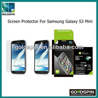 Good Quality Clear/Matte/Privacy/Mirror Screen Protector For Samsung Galaxy S3 Mini I8190