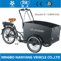 weirdo cargo bike three wheel motor
