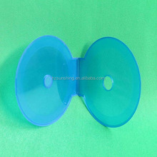 High Quality Plastic Empty Blank Clam Shell CD DVD Single Cases Holder Clear