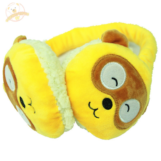 Wholesale Baby Plush Stuffed Toy earmuff With Plush Toy