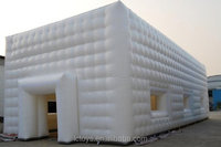 Big Inflatable White Cube Tent For Sale