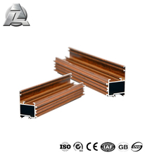 aluminum rail for making aluminum windows and doors
