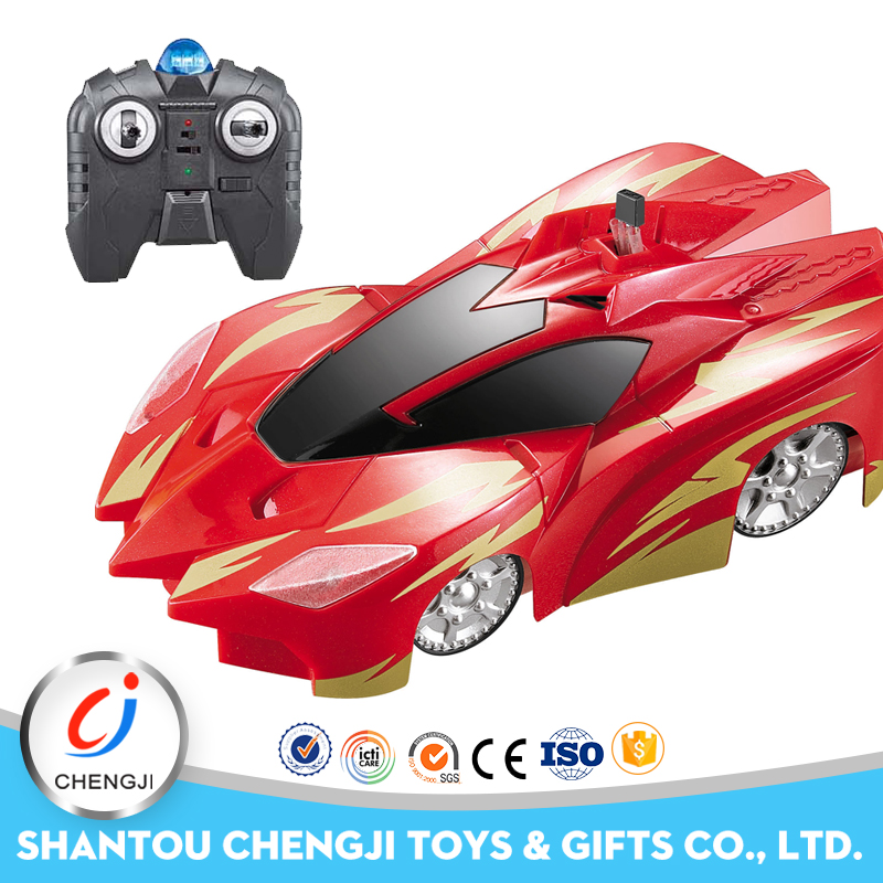 Good quality Top selling Zero Gravity Racing rc mini toy wall climber car