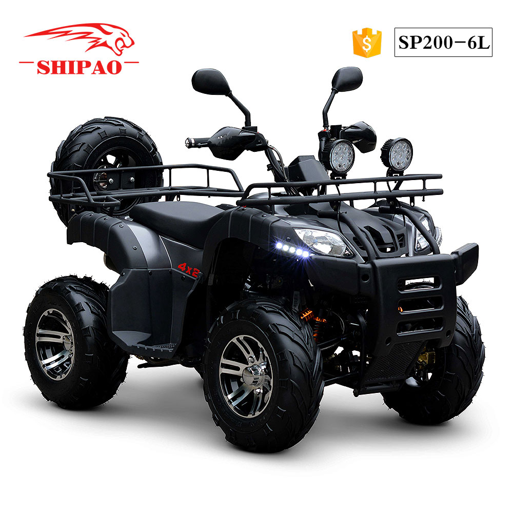 SP200-6L Shipao nice experience price of quad bikes