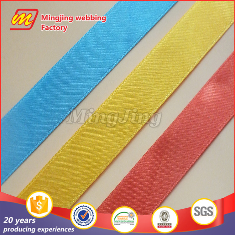 2016 New Factory directly custom design elastic ribbon for hair ties In China