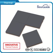 50W/m.k Carbon Fiber Filled Heat Transfer Silicone Thermal Conductive Gap Filler Pad