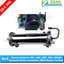 Enamel coated ozone producing tubes with high voltage transformer for ozone generator parts