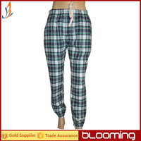 Men's yarn dyed flannel lounge pants