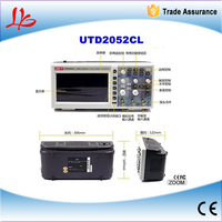 used digital oscilloscope sale UTD2052CL,mini oscilloscope,oscilloscope usb china