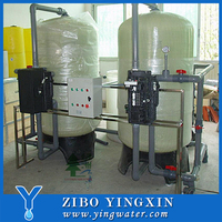 Low Cost Water Softening Equipment / Well Seawater Filter Machine