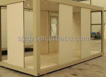 The latest design fashion 40ft prefab container homes for sale