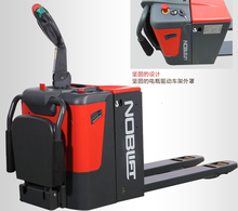 2 tons foldable mini electric pallet truck forklift